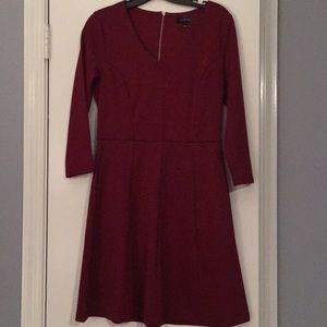 Like new The Limited dark red a-line dress